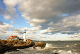 DSC08501.jpg After the Storm portland head light donald verger maine lighthouses