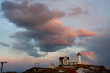 148DSC03644.jpg RESOLUTION AT DUSK OF WILD STORMRONT at Nubble Light maine
