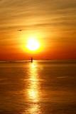 DSC04507.jpg For Lois, SUNRISE OVER THE ATLANTIC  Ram Ligh Lighthouse behind Portland Head Light