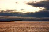 DSC06158.jpg  distant Ram Light Lighthouse portland maine at sunrise