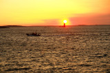 DSC05020.jpg Ram lighthouse ... the pilot boat returns at dawn... a tanker soon to arrive