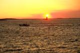 DSC05020.jpg Ram lighthouse ... the pilot boat returns at dawn... a tanker soon to arrive