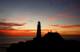 DSC00061st1.2jpg TODAYS DAWN AT PORTLAND HEAD LIGHT ... THE QUEEN met Ian from England