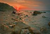 _MG_1172 Sunrise at Mohegan Bluffs
