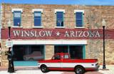 Truck in Winslow, AZ