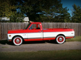 Truck with whitewalls.