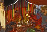 Sahara tent ,making tea in Tigzirt