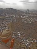 on top of Jebel Nour (ghar hiraa)