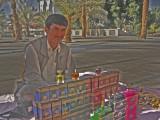 a kazakh in medina.