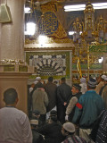 Inside the rawda echarifa,a piece of paradise  according to the prophet(pbuh)