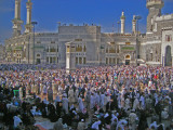The courtyard,the haram mosque,Mecca