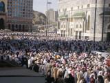 Outside the Haram.