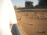 The graveyard of medina,thousands of sahaba are buried here.