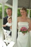 Bryllup-Malene og Finn