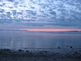 Lever du soleil - Goose Spit, Comox Valley,B.C - Sunrise