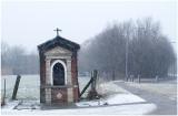 Dijkstraat chapel in snow