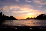 Sunset at Terrace Beach
