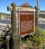 kneeling nun historic marker