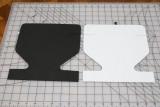 Cut from 2mm foam