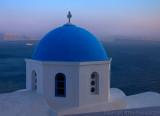 28535 - A chapel on the island of Santorini