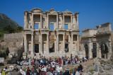 28080 - Library at Ephesus, Turkey