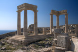 28301 - Restoration at the Lindos acropolis