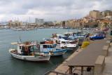 28419 - Fishing boats at Heraklion
