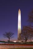 28617c - Washington Monument at night