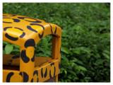 Cute leopard dustbin