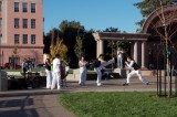 Tai Chi group in the new park