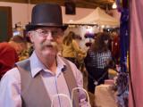 Vendor at the Xmas Fair