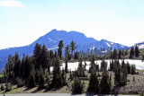 One of the peaks in the Lassen chain
