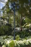 Floral Lamp Post