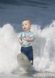 Lil' Surfer Dude (4 Days Till Father's Day)