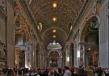 St. Peters Basilica - Vatican City Inside
