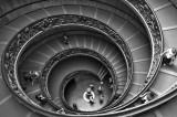 Vatican Museum B&W