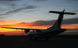 C-GWWC after a long day.