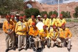 Navajo Code Talker Gallery with three sub-galleries