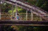 Rider on the bridge