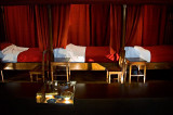 Sick beds in Hôtel Dieu, Beaune