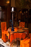 Colorful restaurant in the Latin Quarter