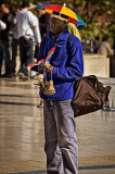 Salesman on the Trocadéro