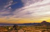 Morning desert