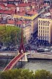 Footbridge over the Saône, Lyon