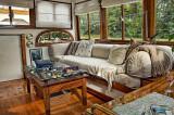 Main cabin on the Swan