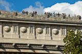 On the Arc de Triomphe