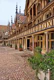 Hôtel Dieu courtyard, Beaune