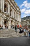 L'Opéra steps