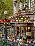 Enjoying the Parisian Sun
