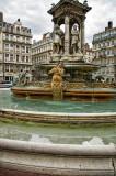 Lyon fountain, Place Jacobins